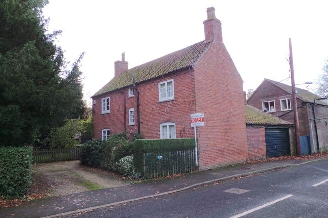 Thumbnail Detached house to rent in Manor Road, Easthorpe, Bottesford, Vale Of Belvoir