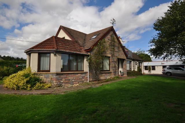 Thumbnail Detached house for sale in Elliehaugh, Orton, Fochabers