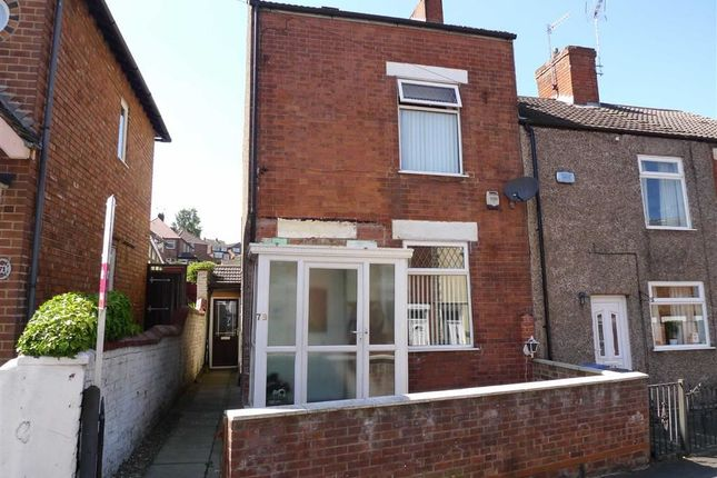 Thumbnail End terrace house for sale in Norman Street, Ilkeston, Derbyshire