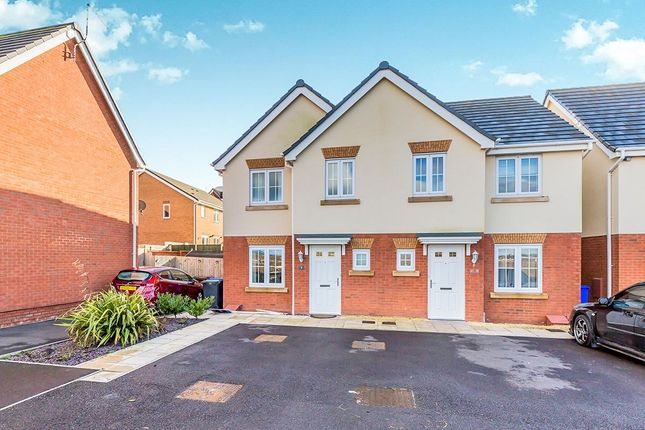 Thumbnail Semi-detached house for sale in Brunel Close, Stoke-On-Trent