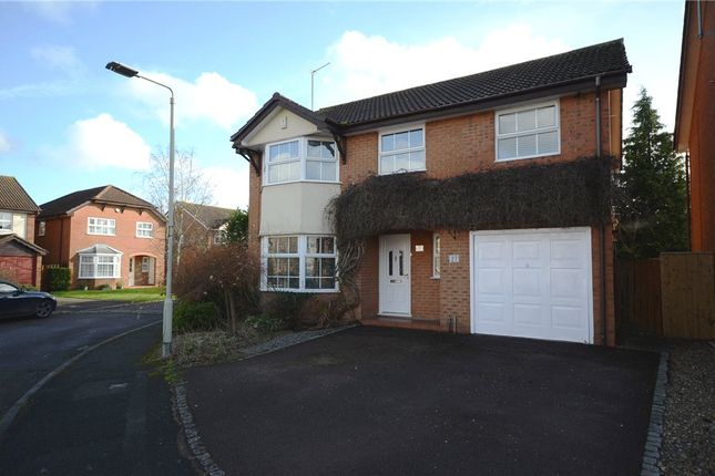 Thumbnail Detached house for sale in Ledran Close, Lower Earley, Reading