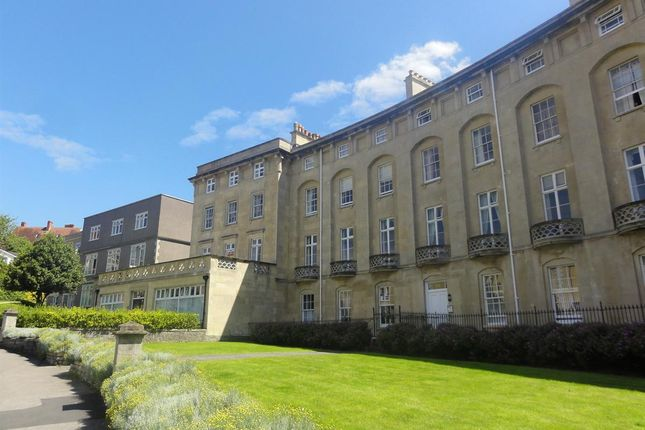 Thumbnail Flat to rent in Royal Crescent, Weston-Super-Mare