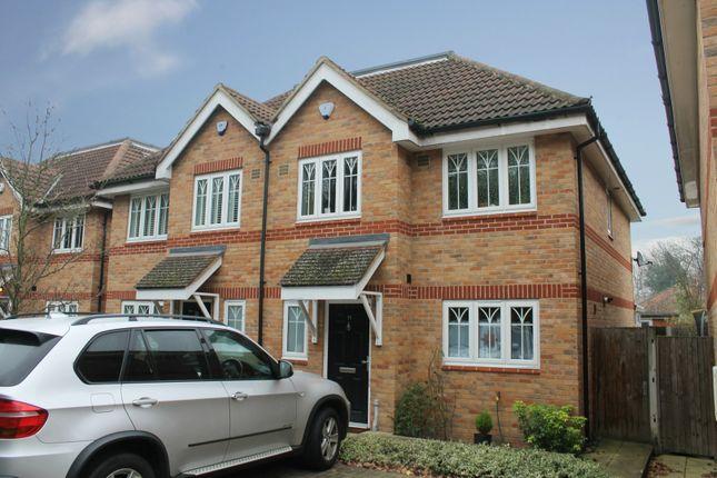 Thumbnail Semi-detached house for sale in Loncin Mead Avenue, Addlestone, Surrey