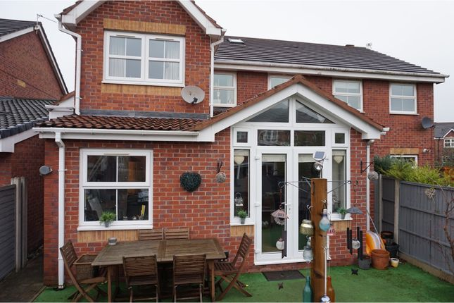 Thumbnail Semi-detached house for sale in Waltersgreen Crescent, Warrington