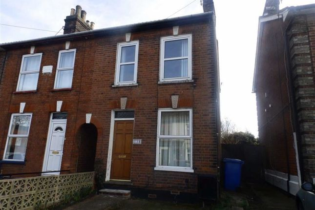 Thumbnail Terraced house to rent in Alan Road, Ipswich