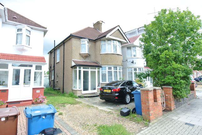 Thumbnail Semi-detached house for sale in Kenton Road, Kenton