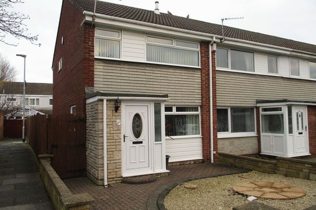 Thumbnail Terraced house to rent in Addington Drive, Blyth