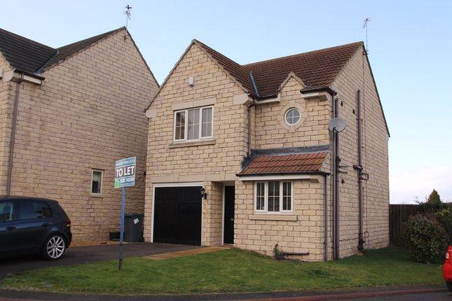 Thumbnail Detached house to rent in Elm Close, Rossington, Doncaster