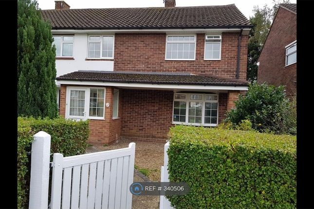 Thumbnail Semi-detached house to rent in Friars Way, Bushey