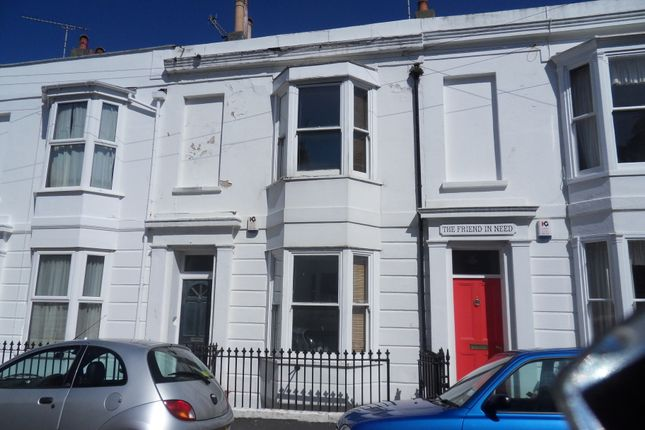 Thumbnail Terraced house to rent in Great College Street, Brighton