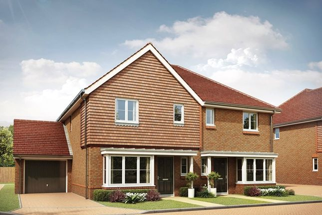 Thumbnail Semi-detached house for sale in St Johns Way, Edenbridge, Kent