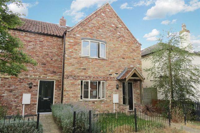Thumbnail End terrace house for sale in Walcott Road, Billinghay, Lincoln