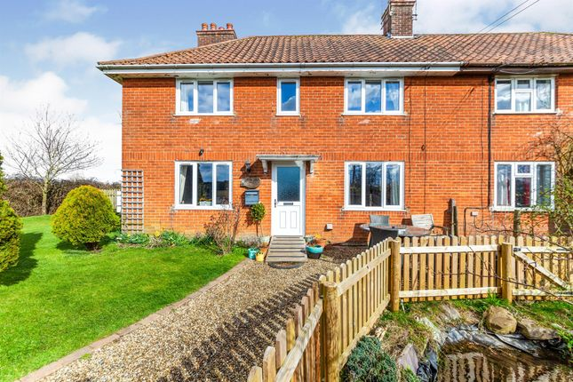 Thumbnail Semi-detached house for sale in Mill Road, Rumburgh, Halesworth