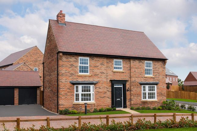 "Thumbnail Detached house for sale in ""Henley"" at Newton Road, Burton-On-Trent"