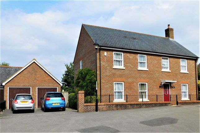Thumbnail Detached house for sale in Ashbrook Walk, Lytchett Matravers, Poole, Dorset