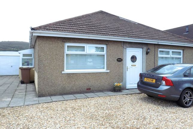 Thumbnail Detached bungalow to rent in Nantgarw Road, Caerphilly