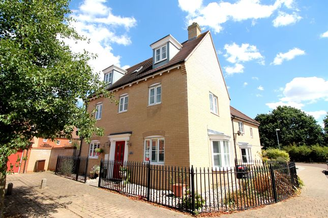 Thumbnail Detached house for sale in James Gore Drive, Colchester