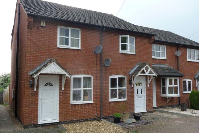 Thumbnail End terrace house to rent in Rawdon Road, Moira, Swadlincote
