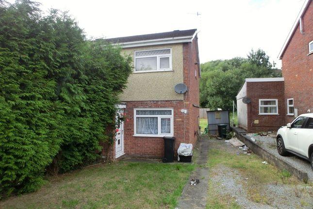 Thumbnail Semi-detached house for sale in Tyn Y Cae, Alltwen, Pontardawe, Swansea.