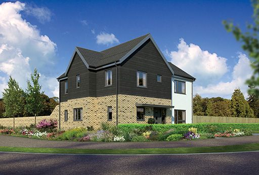 "Thumbnail Detached house for sale in ""Windsor"" at Kingswells, Aberdeen"