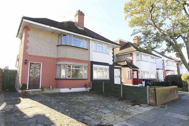Thumbnail Semi-detached house for sale in Newnham Gardens, Northolt, Middlesex