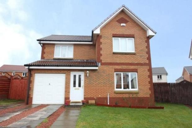 Thumbnail Detached house to rent in Whitacres Road, Glasgow