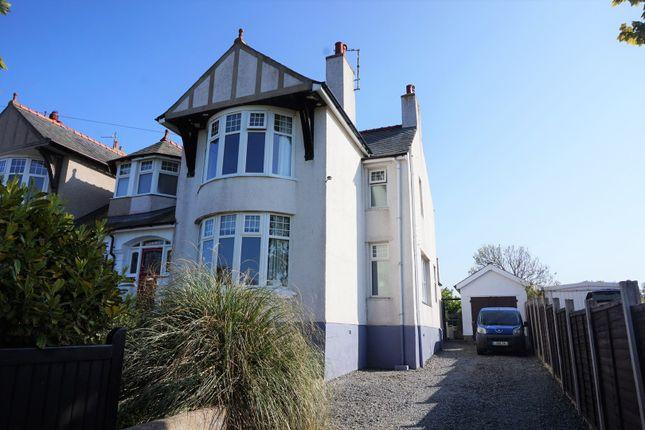 Thumbnail Semi-detached house for sale in Porth Y Felin Road, Holyhead