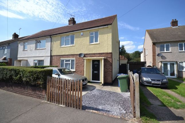 Thumbnail Semi-detached house for sale in Webster Road, Corringham, Stanford-Le-Hope
