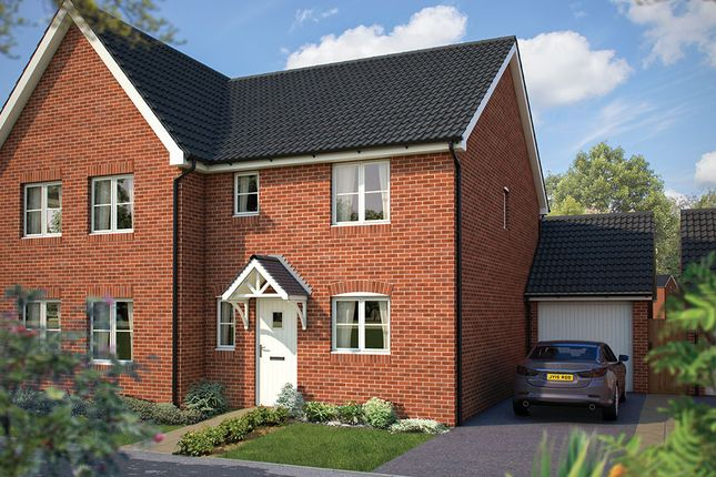 "Thumbnail Semi-detached house for sale in ""The Southwold"" at Cleveland Drive, Brockworth, Gloucester"