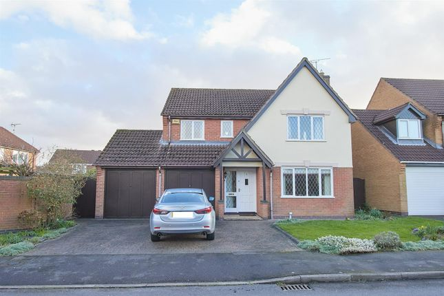 Thumbnail Detached house for sale in Falmouth Drive, Hinckley