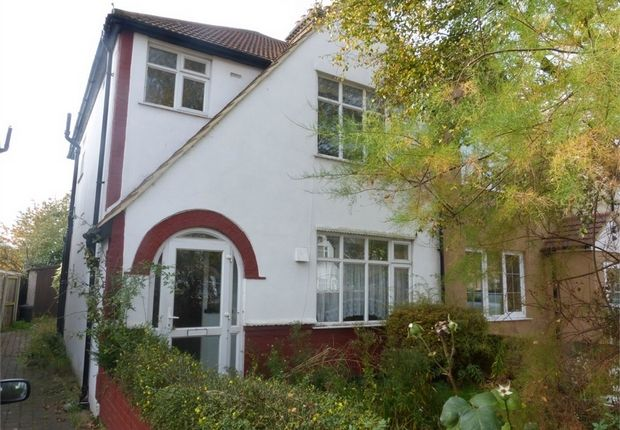 Thumbnail Semi-detached house for sale in Worton Way, Isleworth, Middlesex