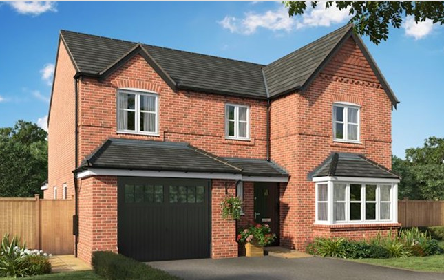 Thumbnail Detached house for sale in Bramhall Plus, Wharford Lane, Runcorn, Cheshire