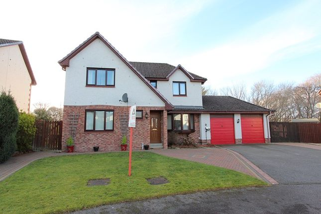 Thumbnail Detached house for sale in Stratherrick Gardens, Inverness
