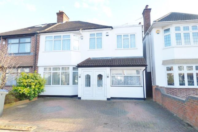 Thumbnail Semi-detached house for sale in Shaftesbury Ave, Norwood Green Southall