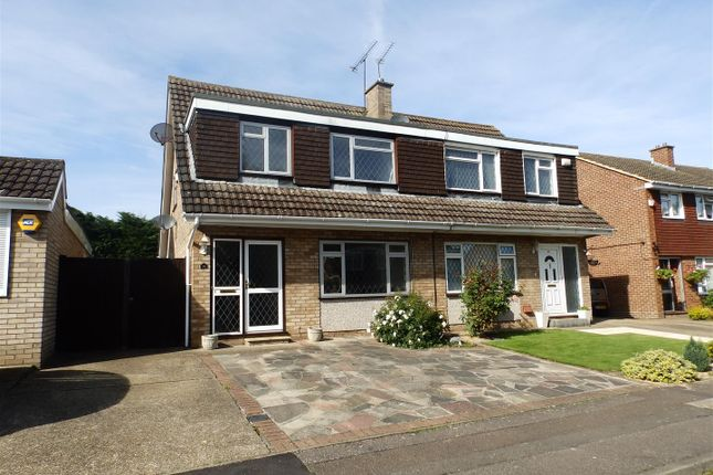 Thumbnail Semi-detached house to rent in Wyteleaf Close, Ruislip