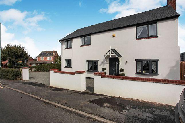 Thumbnail Detached house for sale in Shilton Lane, Bulkington, Bedworth, Warwickshire