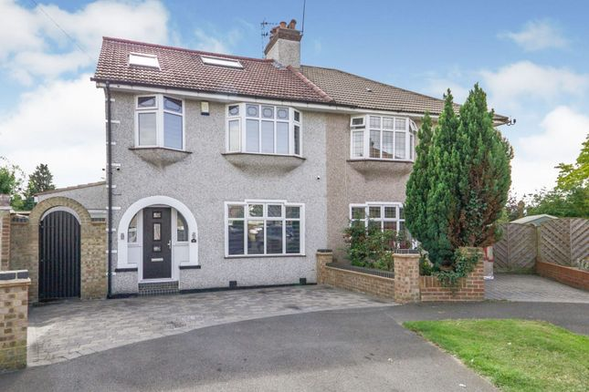 Thumbnail Semi-detached house for sale in Brabourne Crescent, Bexleyheath
