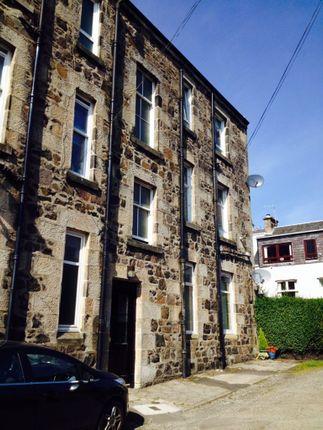 Thumbnail 1 bed flat to rent in Rosebank Terrace, Kilmacolm
