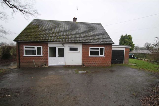 Thumbnail Detached bungalow to rent in Llynclys, Oswestry