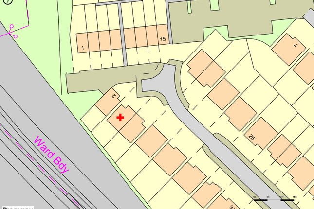 Plot Map of Halifax Drive, Buckshaw Village, Chorley, Lancashire PR7