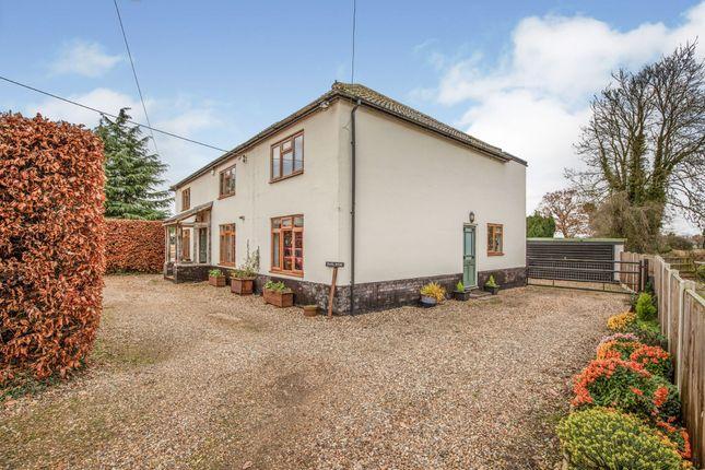 Thumbnail Equestrian property for sale in Shropham, Norfolk