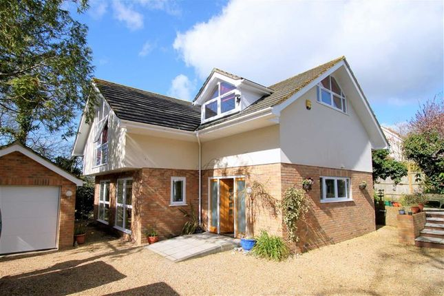 Thumbnail Detached house for sale in Chewton Common Road, Highcliffe, Christchurch, Dorset