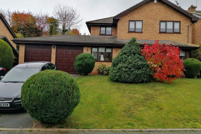 4 bed detached house for sale in Brookfield, Loggerheads, Market Drayton TF9