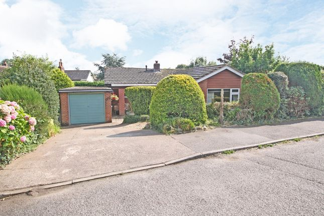 Thumbnail Detached bungalow for sale in Broadmead, Woodbury, Exeter
