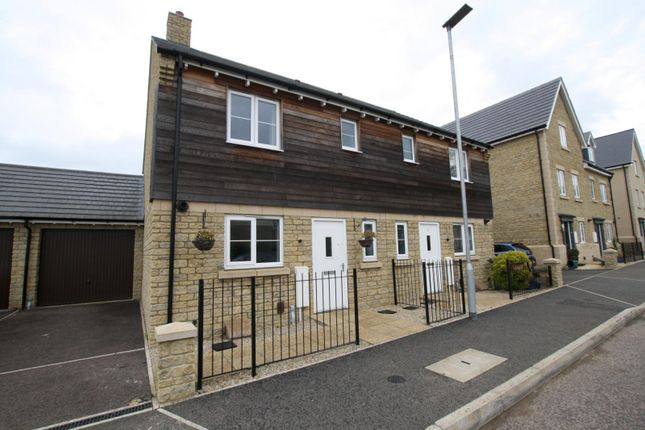 Thumbnail Semi-detached house to rent in Sanderling Way, Bishops Cleeve, Cheltenham