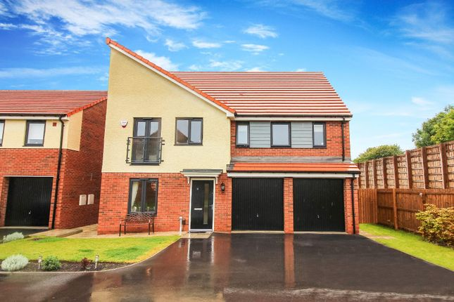 Thumbnail Detached house for sale in Harbottle Grove, Holystone, Newcastle Upon Tyne