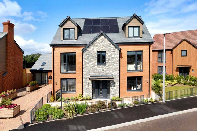 Thumbnail Detached house for sale in Exeter Road, Topsham, Devon