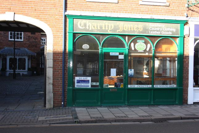 Thumbnail Retail premises to let in Guildhall Street, Grantham