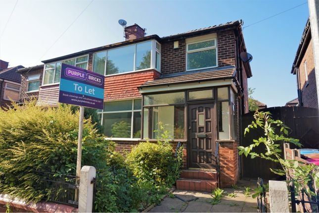 Thumbnail Semi-detached house to rent in Maldon Crescent, Manchester