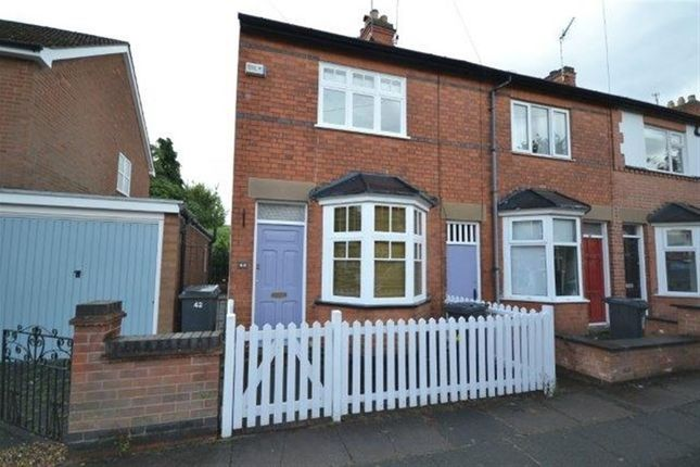 Thumbnail Terraced house to rent in Sidney Road, South Knighton, Leicester
